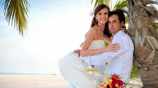 Свадебная церемония - Небесная любовь