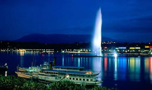 Уик-энд в Женеве